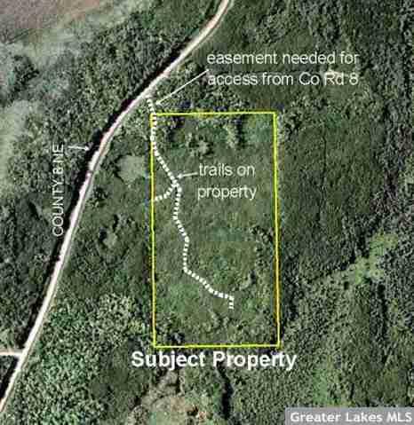 NWNE&SWNE County Road 8, Unorg (144-28) Twp, Bena