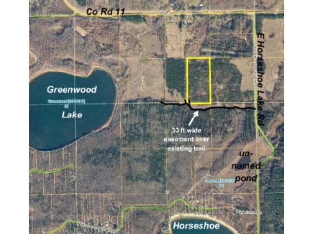 PRICE REDUCED – E2SWSE E Horseshoe Lake Road, Mission Twp, Merrifield