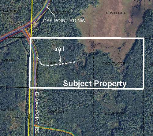 Price Reduced GL5(NESW) & GL6(NWSW) E Oak Point Road, Unorg (143-30) Twp, Cass Lake