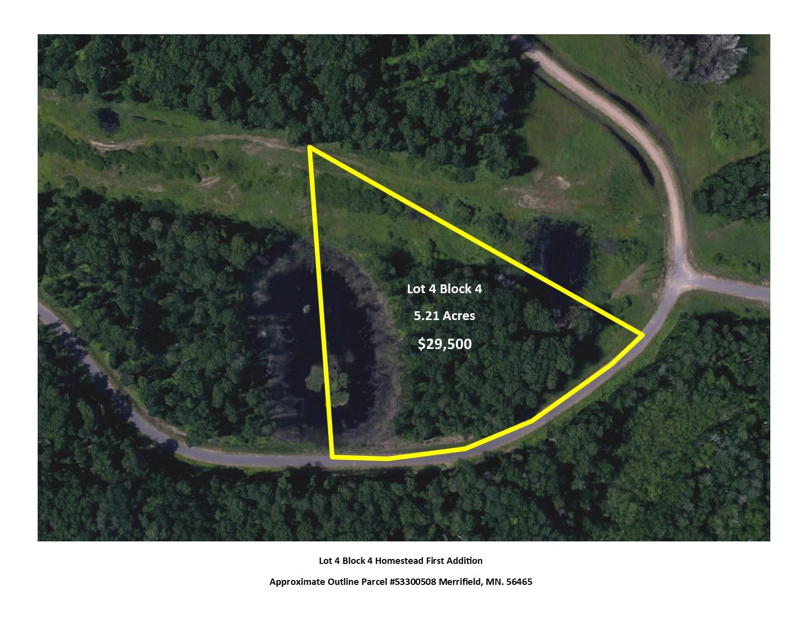 L4B4 Settler Trail, Center Twp, Merrifield