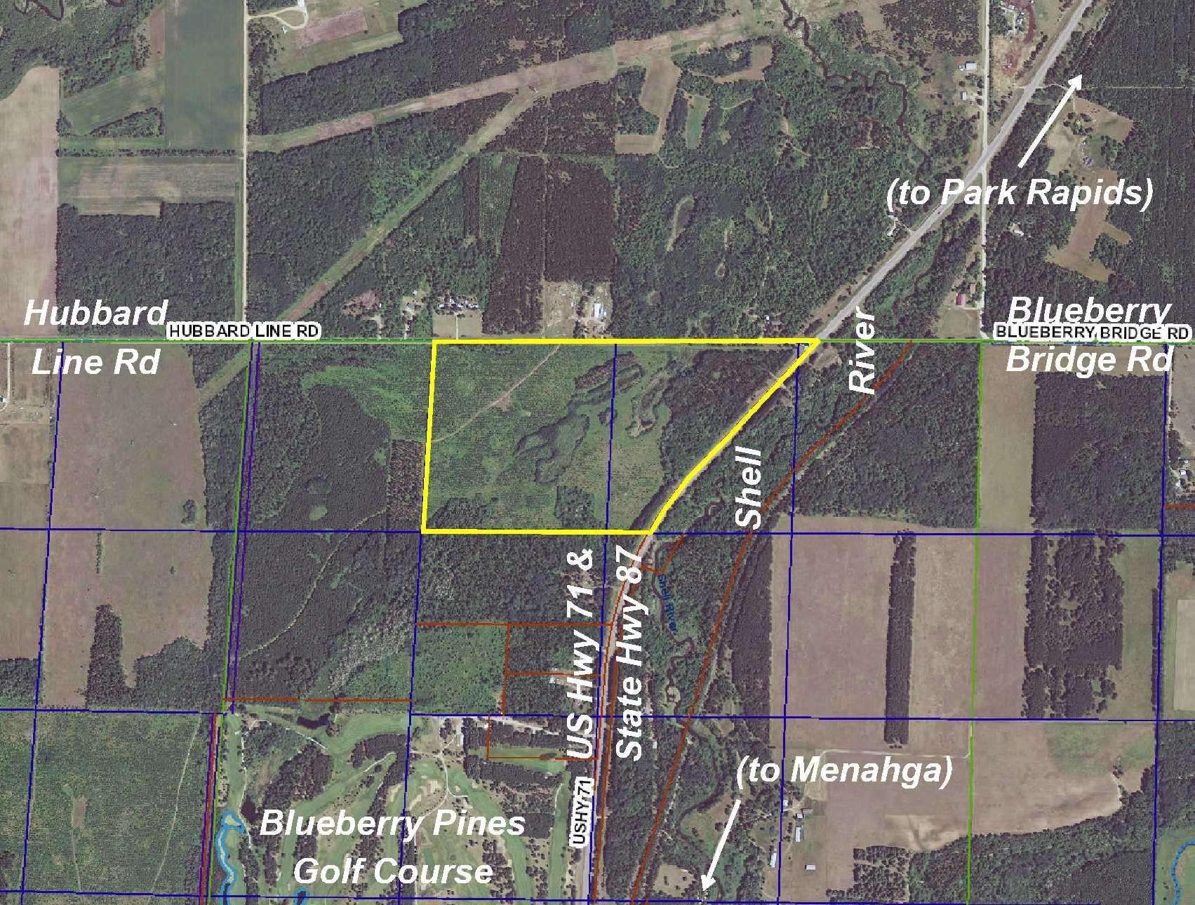 PRICE REDUCED – NENW&PtNWNE US Highway 71, Blueberry Twp, Menahga