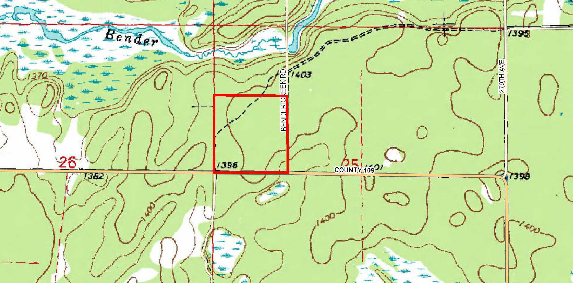 Crow Wing County Property Map