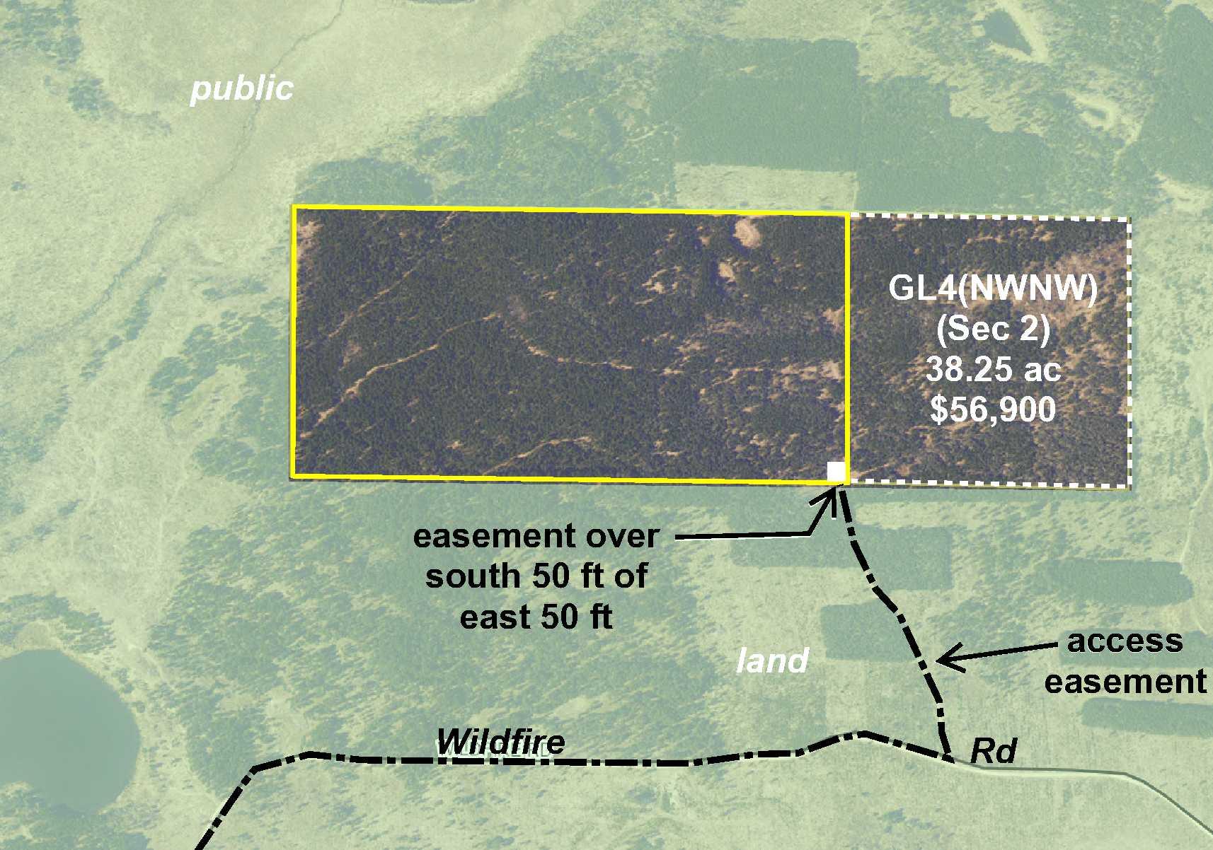 GL1(NENE)&GL2(NWNE) Wildfire Road, Fern Twp, Solway