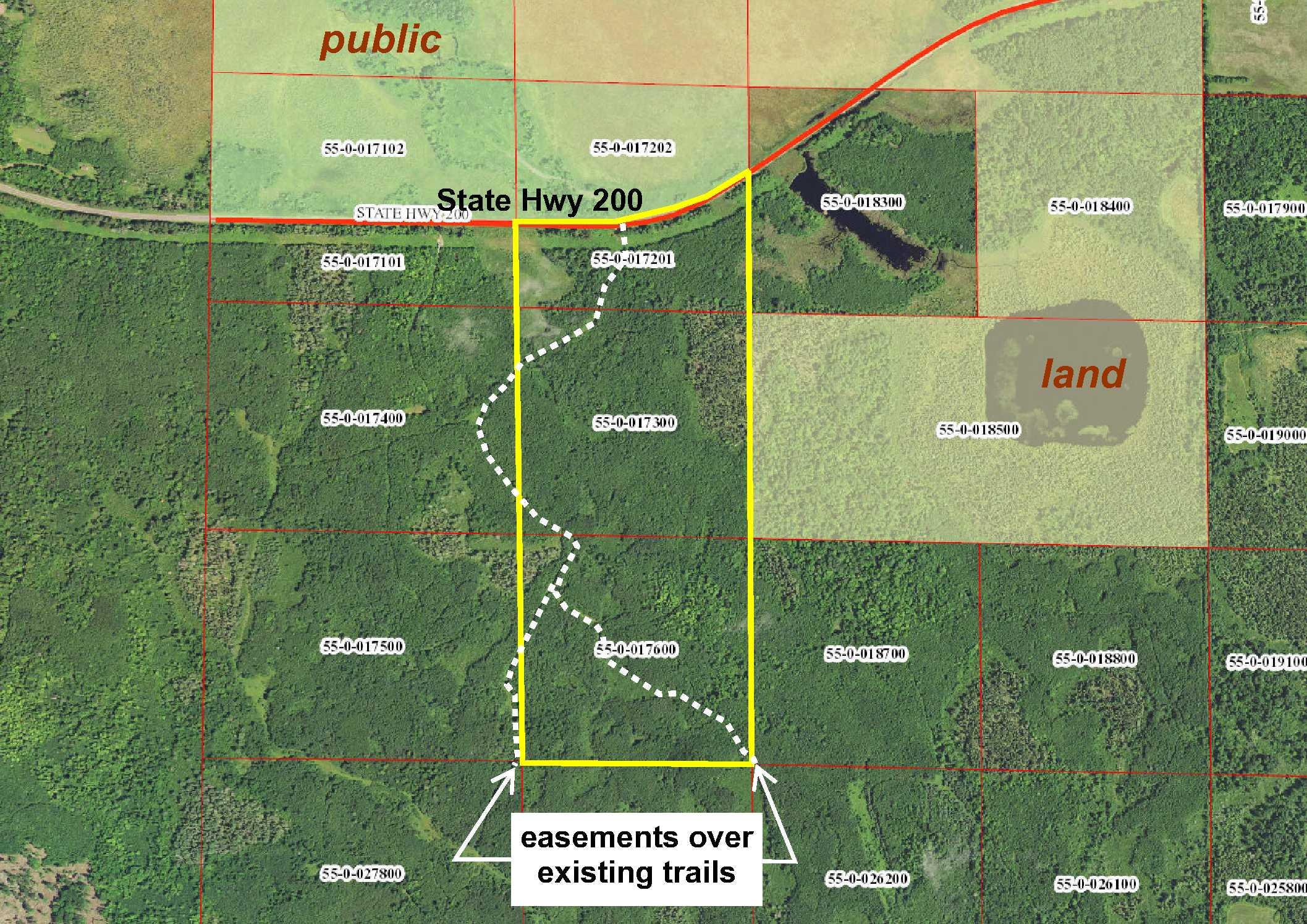 NESE&SESE&PtSENE State Hwy 200, Unorg (052-27) Twp, Swatara