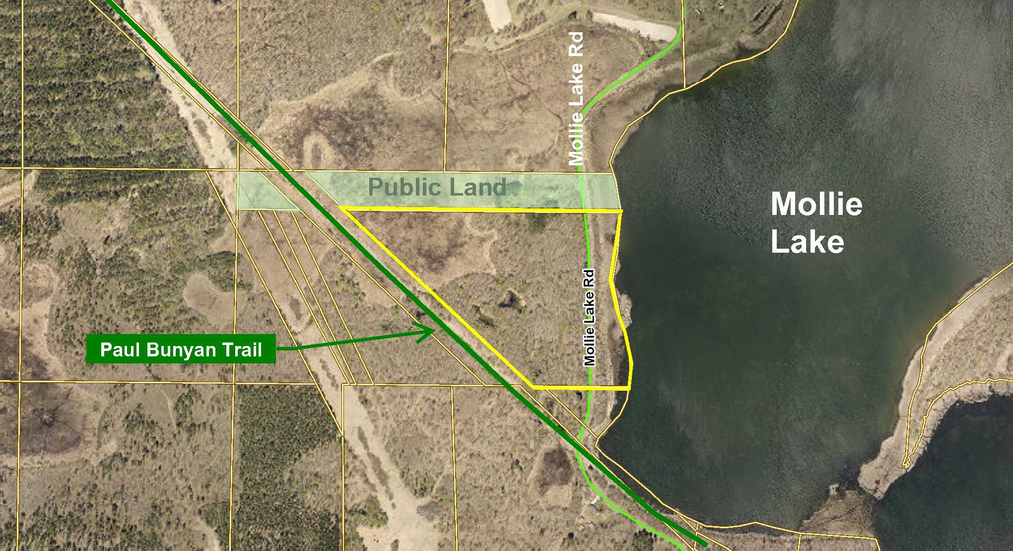 GL1 (NWNE) Mollie Lake Rd, Lake Edward Twp, Nisswa