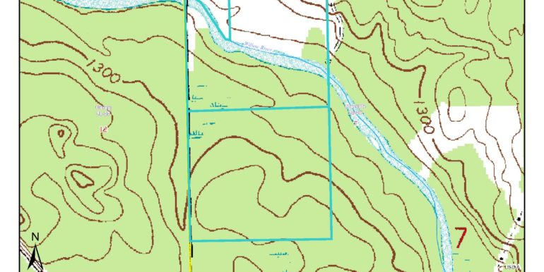 Aitkin, Macville, 0512607 GL1(NWNW) & GL2 (SWNW) Topo USGS Map