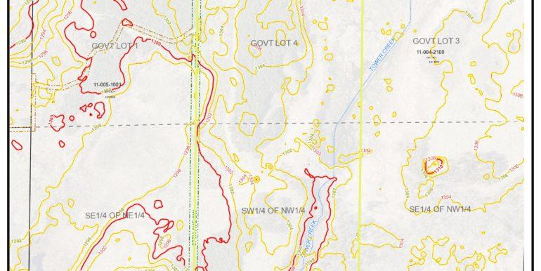 5-Topo Map,CAS,Byr,1353204,GL4(NWNW)&SWNW