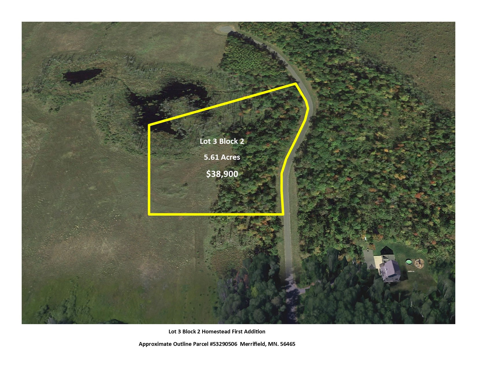 Lot 3 Block 2 Homestead First Addition, Merrifield, MN 56465