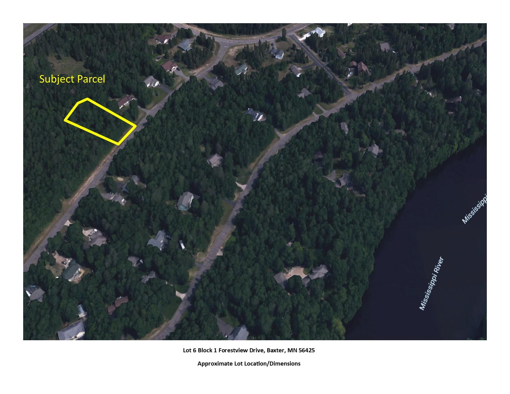 Lot 6 Block 1 Forestview Drive, Baxter, MN 56425